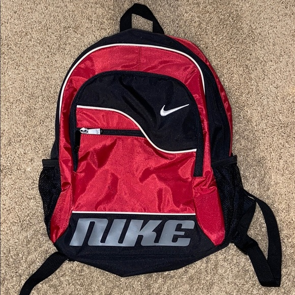 Nike Retro Vintago 90's Small Backpack Red/black